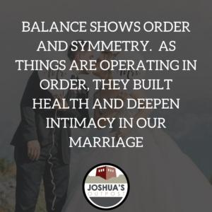 Balanced Marriage
