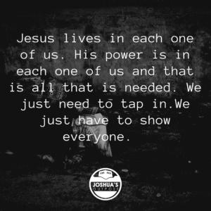 Jesus were alive today