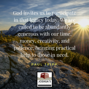 How Generous Is Your God?