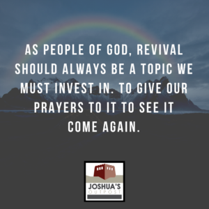 Are You In Revival?