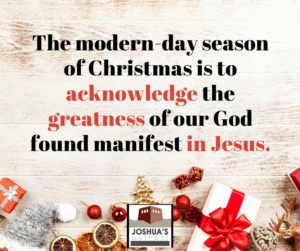 The Christmas Story: A Covenant Forever
