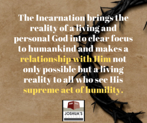 The Importance of the Incarnation
