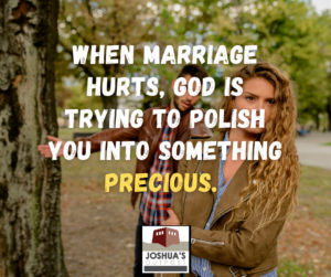 Marriage is about being a servant leader, just like Jesus, and placing your spouse's needs ahead of your own.