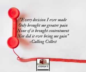 Calling collect