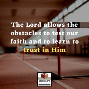 Little Obstacles, Big God